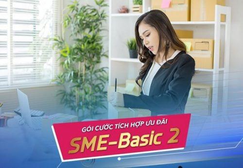 Gói cước tích hợp SME Basic 2 dành cho doanh nghiệp vừa và nhỏ của VNPT