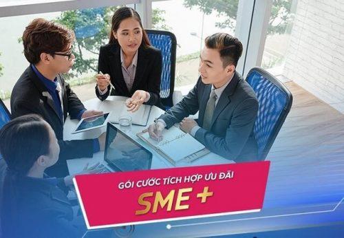 Gói cước tích hợp SME + dành cho doanh nghiệp vừa và nhỏ của VNPT