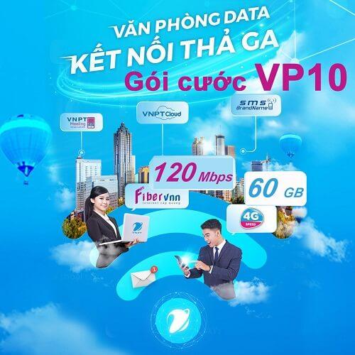 Gói cước Văn phòng data VP10 - internet cáp quang doanh nghiệp