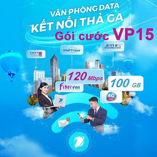 Gói cước Văn phòng data VP15 - internet cáp quang doanh nghiệp