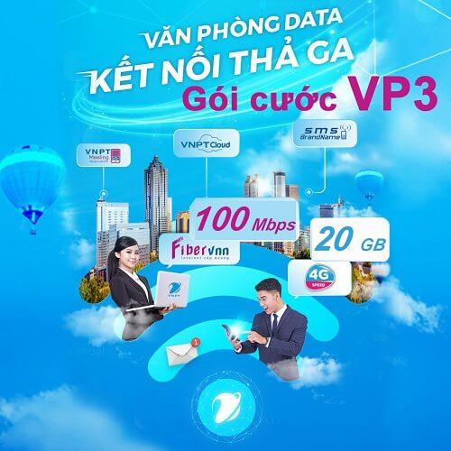 Gói cước Văn phòng data VP3 - internet cáp quang doanh nghiệp