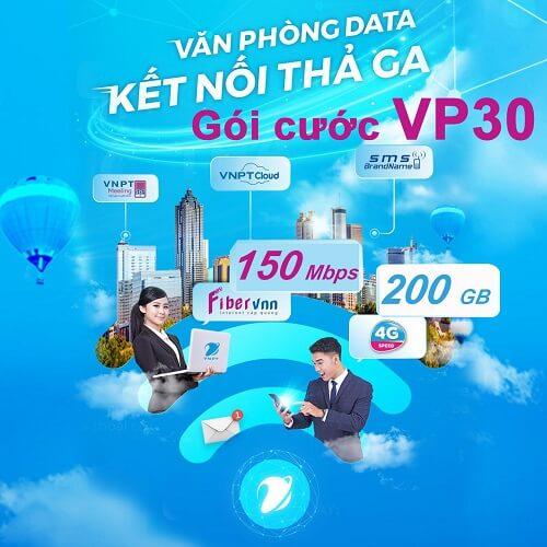 Gói cước Văn phòng data VP30 - internet cáp quang doanh nghiệp