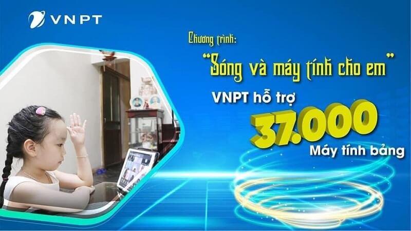 VNPT hỗ trợ 37.000 máy tính bảng cho học sinh